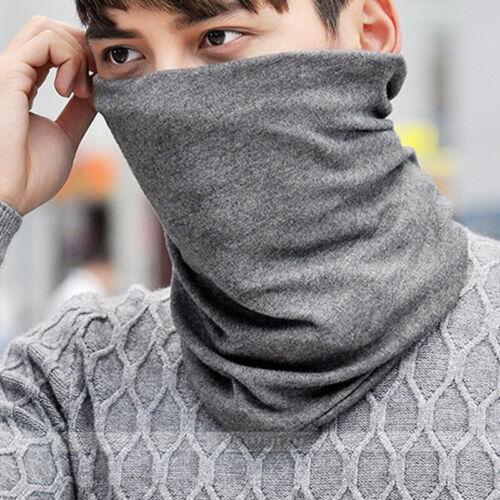 Men Hat Beanie Scarf Collar Turban Winter Head Wrap Cap Spor