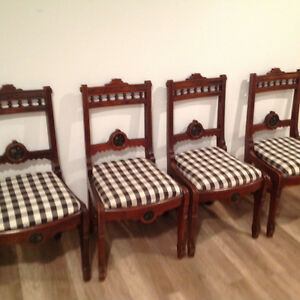 Four Antique chairs Kitchener / Waterloo Kitchener Area image 1