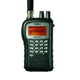 Uniden UBC92XLT VHF- UHF 200 Channel Radio Scanner
