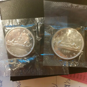 Monnaie Canada 1962 1 dollar Argent/Silver ProofLike