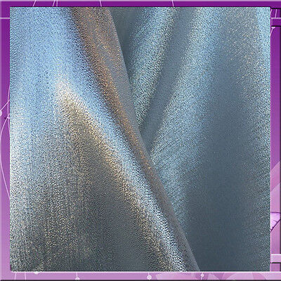 CRYSTAL LAME 58 INCHES WIDE FABRIC SOLD BY THE YARD SILVER