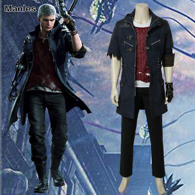 Devil May Cry 5 Costume DMC5 NERO Cosplay Halloween Outfits Men Game Props - Devil Outfits Halloween