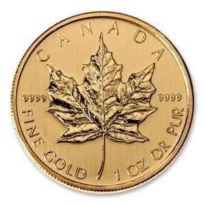 Valeurs de l'Or au marché Canadien pour la fonte.