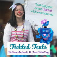 Tickled Teals Balloon Animals & Face Painting