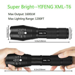 Powerful  Tactic 1600 LM LED Torch