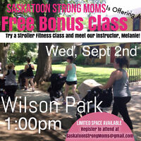 Try-It-Free Mom & Baby Stroller Class