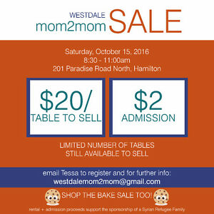 Westdale Mom to Mom Sale