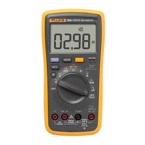 Latest Fluke 18B+ Plus AC DC Voltage Current Digital Multimeter DMM
