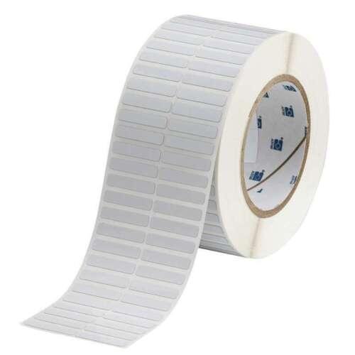 BRADY THT-13-727-10 Thermal Transfer Printer Labels,White
