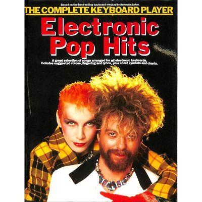 The complete Keyboard Player - Electronic Pop Hits - Keyboard Noten [Musiknoten]