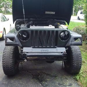 1997 Jeep TJ Rubicon SUV, Crossover