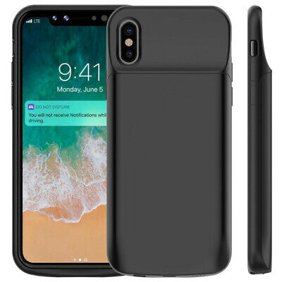 Power Bank Battery Pack Charger Case Cover for iPhone X, iphone Xs, XS MAX XR