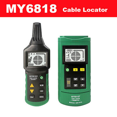 Proffessional My6818 Cable Wire Finder Telephone Network 12v-400v Acdc Tester