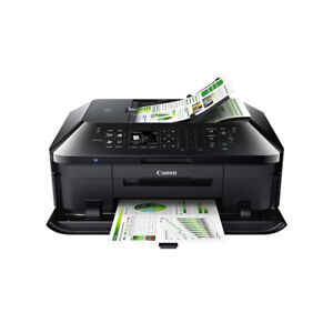 Canon MX722 All-in-One Business Inkjet Printer, Black