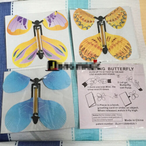 Greeting card magic exclusive flying butterfly works with all exclusive flying butterfly works with all greeting cards m4hsunfo