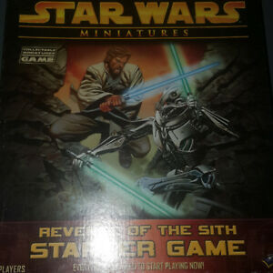 Star Wars Miniatures Revenge of the Sith game Starter Pack