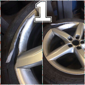 WHEELS/RIMS::REPAIRS::REFINISH::POLISHING-:-SO WHY REPLACE??
