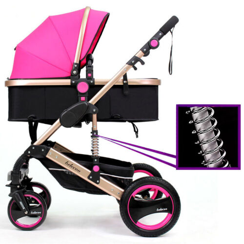 Discount Outdoor Pram Foldable Carriage FS Belecoo Stroller Buggy Travel Pushchairs Baby