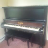 1891 Antique Piano for sale