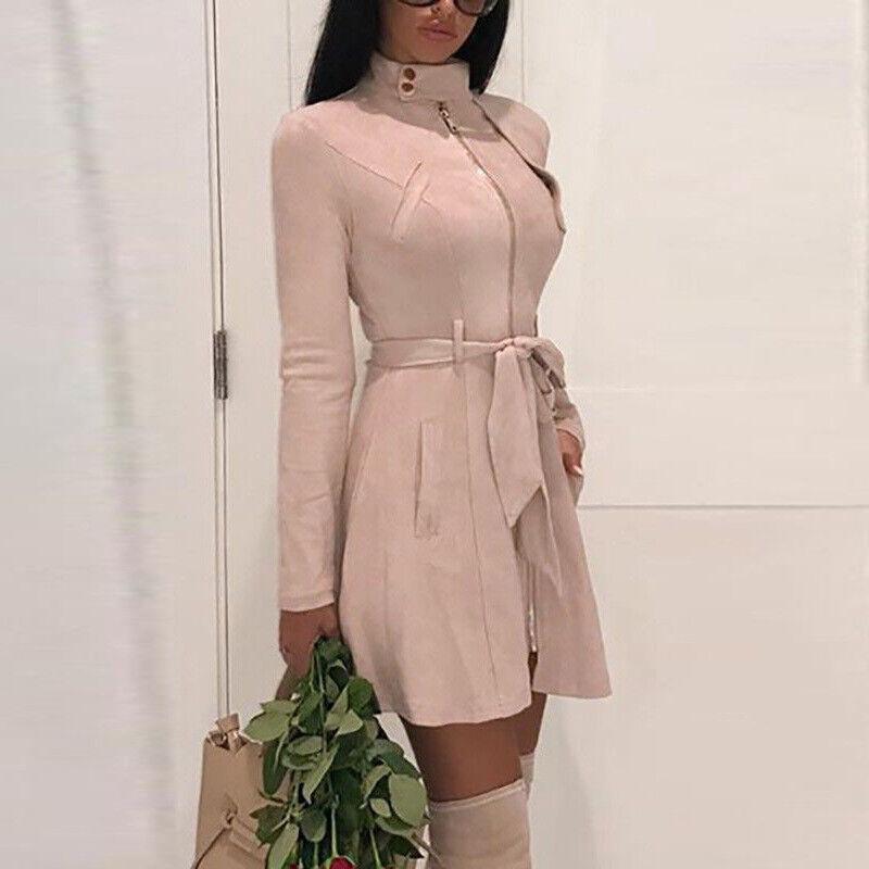 Women Jacket Slim Fit Jumper Mini