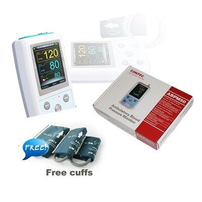 Fda Contec Ambulatory Blood Pressure Monitorusb Software24h Nibp Holter Abpm50