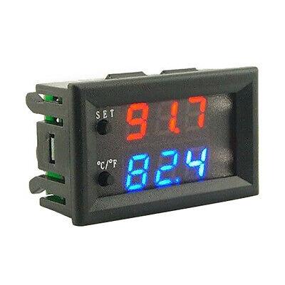 Dc 12v Led Digital Thermostat Temperature Controller Temp Sensor Control W2809 N