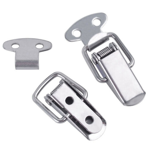 Pack of 5 uxcell/® Spring Loaded Toggle Latches 110mm Length Iron Hasps Clamps for Case Box Trunk Catches