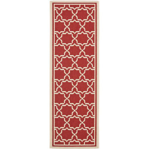 Brand New Red Outdoor Area Rug Runner -2'2x10 -$152 Retail
