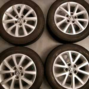 VW Jetta oem mags 205/55/16 micheline tires