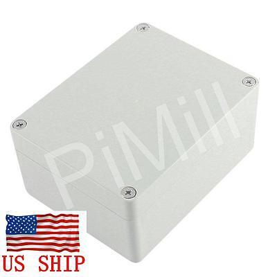 Plastic Project Box Enclosure Case Electronic Diy Waterproof 115x90x55mm Gray Us
