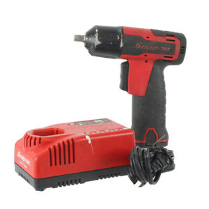 Snap On 3/8 Impact Gun W/ 2 Batteries And Charger