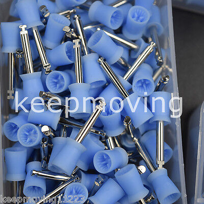 100 Pcs Dental Latch Polishing Polisher Prophy Cup For Contra Angle Handpiece