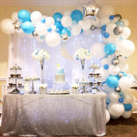 PARTY BACKDROPS and BALLOONS