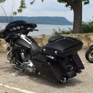 2017 Harley Tour Pack matt black NEW