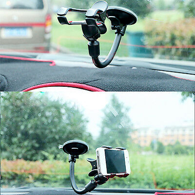 Universal 360°Rotating Car Mount Holder Windshield Stand Bracket GPS Cell Phone
