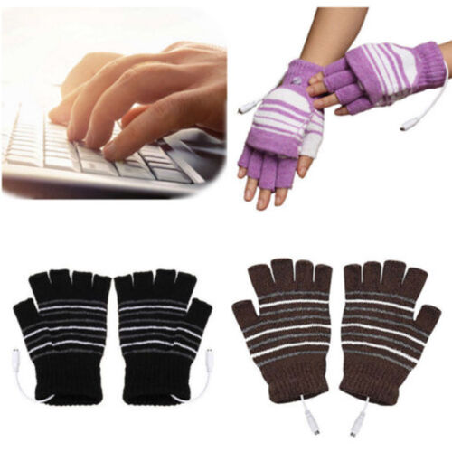 unisex winter usb heated gloves thermal hand