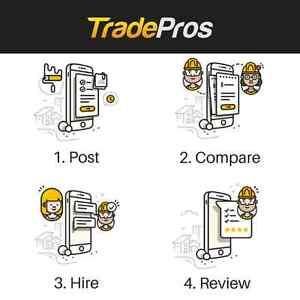 Try TradePros - Let Top Rated Plumbing Pros Bid on Your Job! Edmonton Edmonton Area image 2