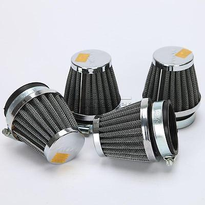 4pcs 50mm Intake Air Cleaner Filter System Fit For Motorcycle replacement Parts
