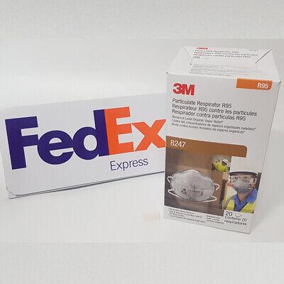 Original 3M 8247 1Box ( 20 PCS ) - FedEX ( Priority Service )