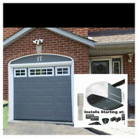 Season Saving's-FREE Opener with the purchase of a Garage Door