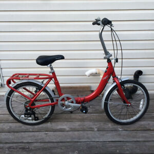 Folding Schwinn Bike, 7 Speed, With Case, Hardly Used