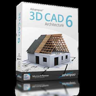Ashampoo 3D CAD Architecture 6 dt.Vollversion ESD Download 29,99 statt 79,99 EUR