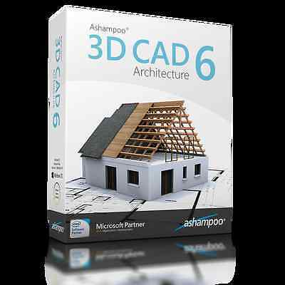 3D CAD Architecture 6 WIN Ashampoo dt.Vollv.Lifetime Download 29,99 statt 79,99!
