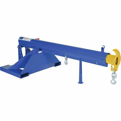 New Adj Pivoting Forklift Jib Boom Crane Lm-obt-4-36 4000 Lb. 36 Centers