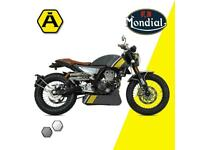 FB MONDIAL HPS 125cc - LEARNER LEGAL - CLASSIC CAFE MOTORCYCLE