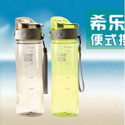 Plastic Water Bottles Portable Outdoor Drinkware Camping Bottles Sports Bottles