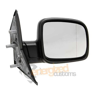 Volkswagen Transporter T5 2003-2010 Manual Black Wing Mirror Drivers Side