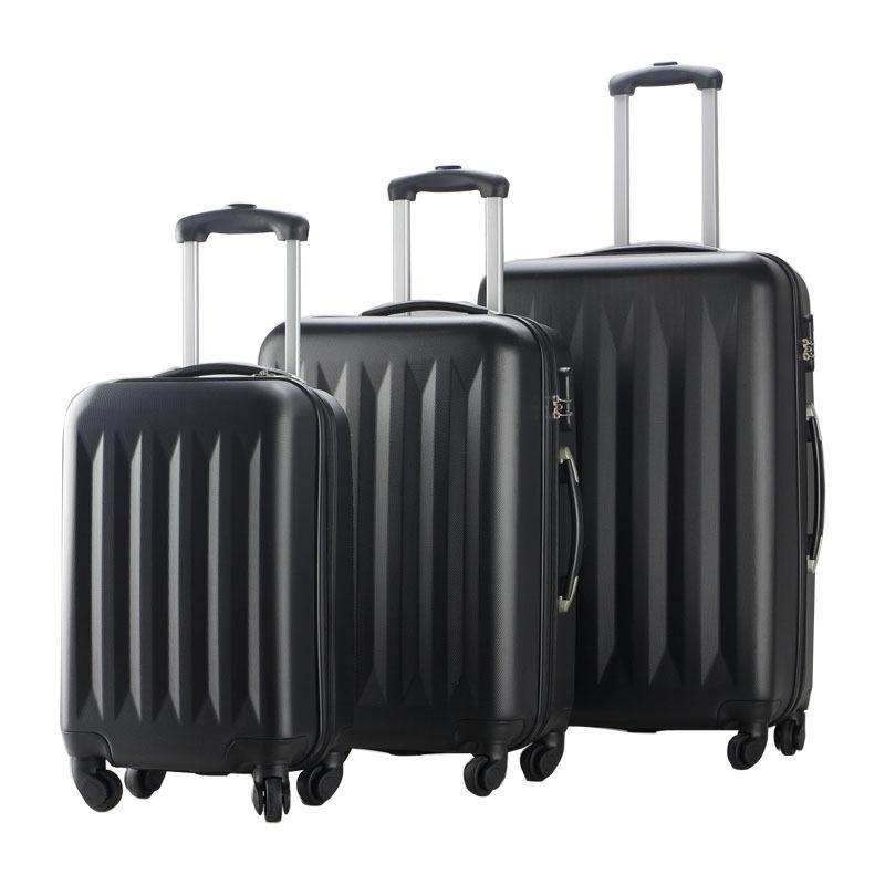 Купить FDW - New 3 Pcs Luggage Travel Set Bag ABS Trolley Suitcase 4 Color 2048