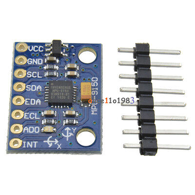 9dof Mpu-9150 3 Axis Gyroscopeaccelerometermagnetic Field Replace Mpu 6050
