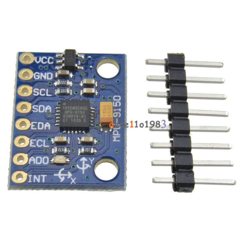 Details about 9DOF MPU-9150 3 Axis Gyroscope+Accelerometer+magnetic field  replace MPU 6050